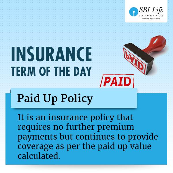 Pin De Sbi Life Insurance Em Insurance Term Of The Day