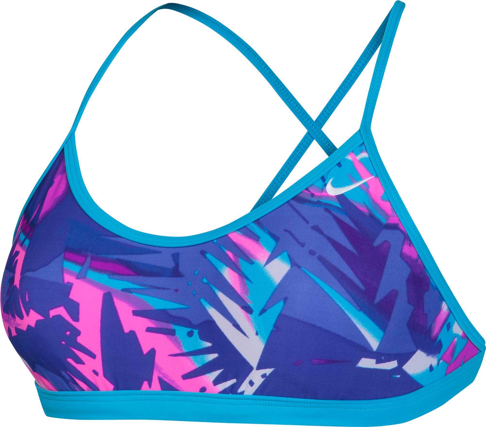 ff6b3e30 Nike Women's Tropic Cross Back Swimsuit Top | Products | Swimsuit ...