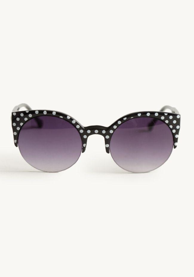 Dolly Polka Dot Sunglasses By A.J Morgan at #Ruche @shopruche