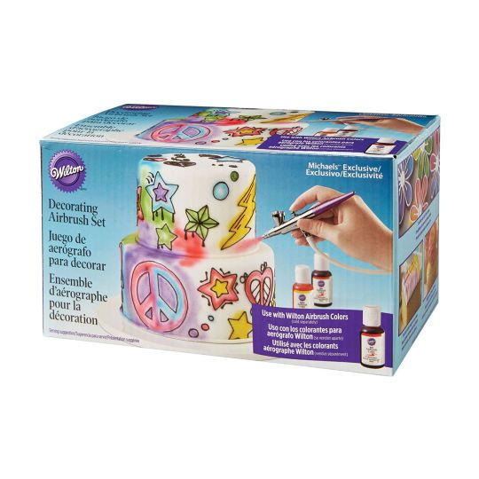 Cake Decorating Airbrush Wilton : Wilton Decorating Airbrush Set Cake, Bakeries and Wilton ...