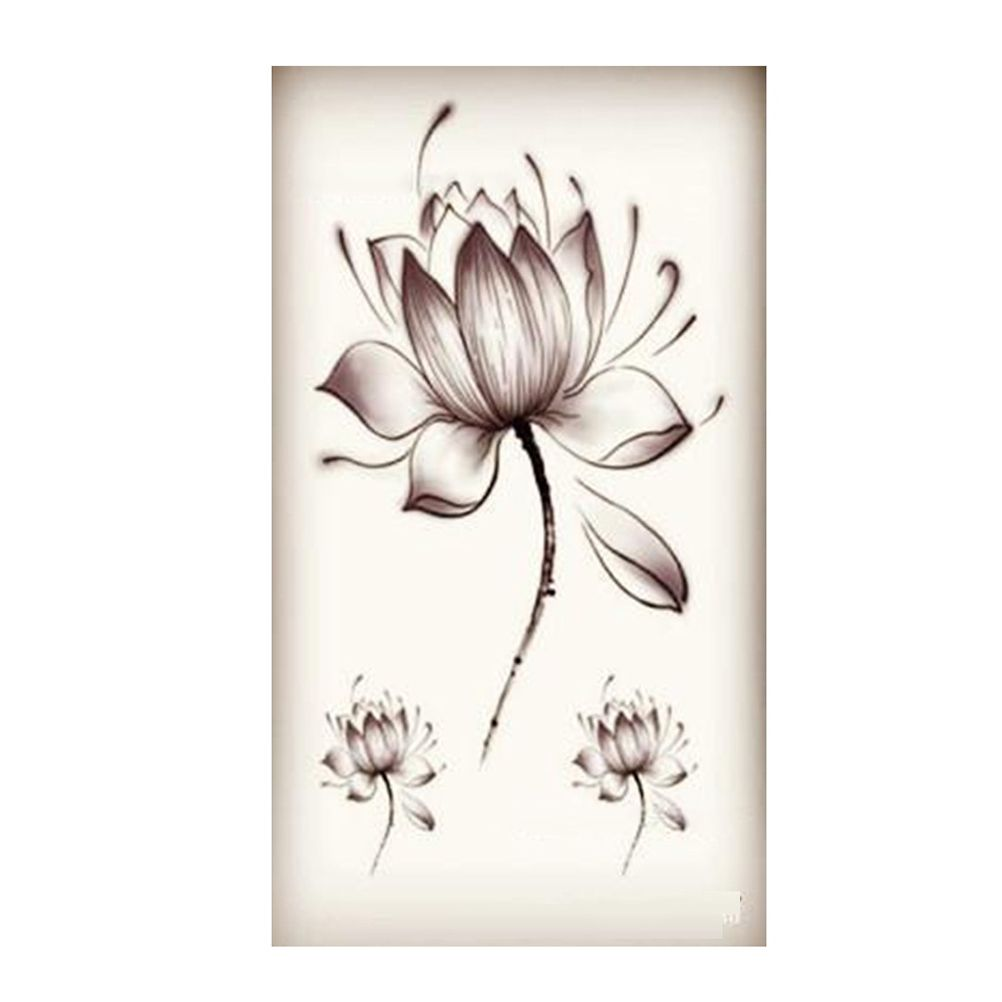 Popular Lotus Flower Tattoos Buy Cheap Lotus Flower Tattoos Lots