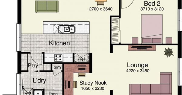 I could easily move into this home tomorrow... | floor plans | Pinterest | New home designs, House and Design
