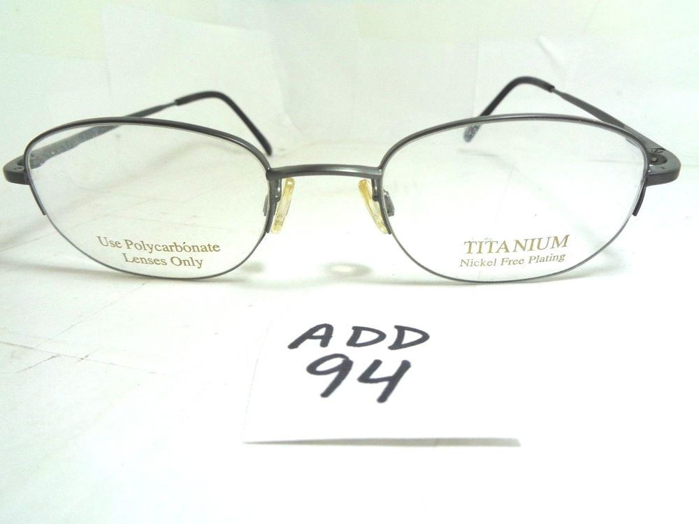 New TITMUS Eyeglasses Z87-2 C560 TS1 LGR Grey Titanium (ADD-94 ...