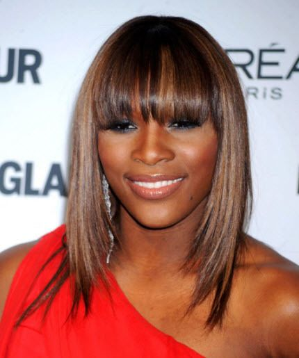 Serena Williams Weavy Wonders Her Hair Wins Losses Hairstyle Hair Styles Celebrity Hairstyles