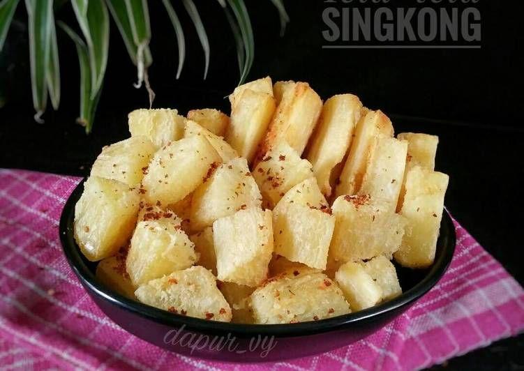 Resep Tela Tela Singkong Gurih Singkong Goreng Pr Recookumbi2an Oleh Dapurvy Resep Makanan Resep Keju