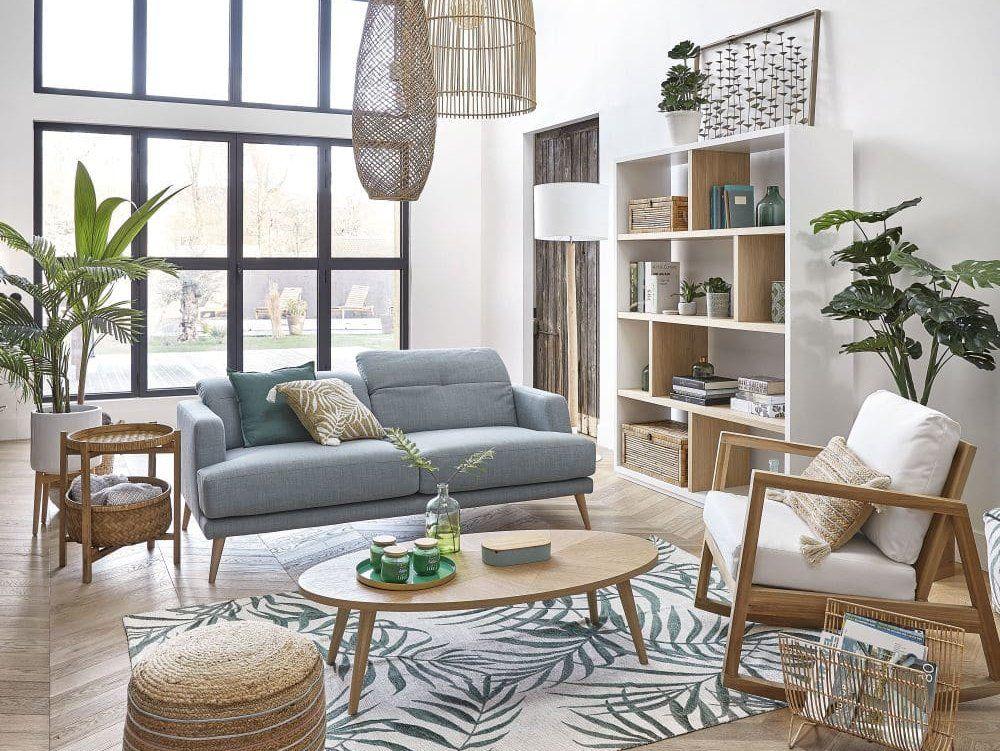 Ambiance déco végétale dans le salon | Ambiance deco, Déco maison et Décoration maison