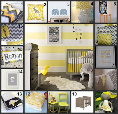 Grey Yellow Nursery Ideas All Items Australian Handmade From Madeit Au