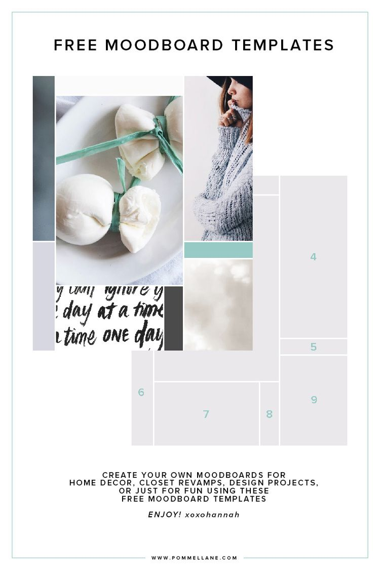 Free Moodboard Templates Click To Download From Www