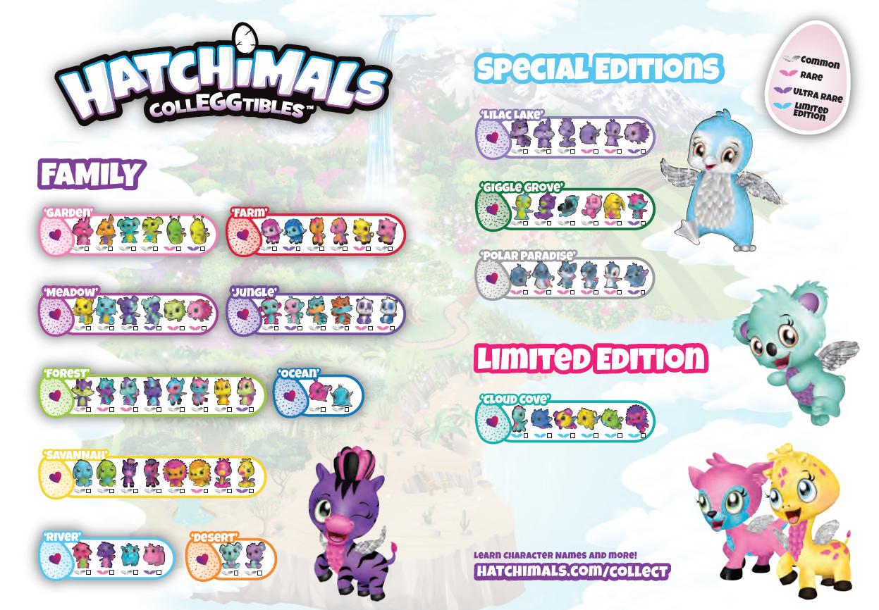 Passport To Hatchtopia Hatchimals Character Names Learning
