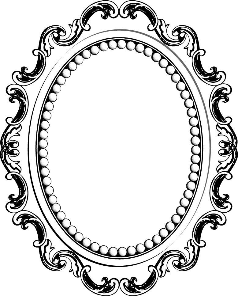 Photos Cadre Baroque Ovale Dessin Photos Pinterest Frame