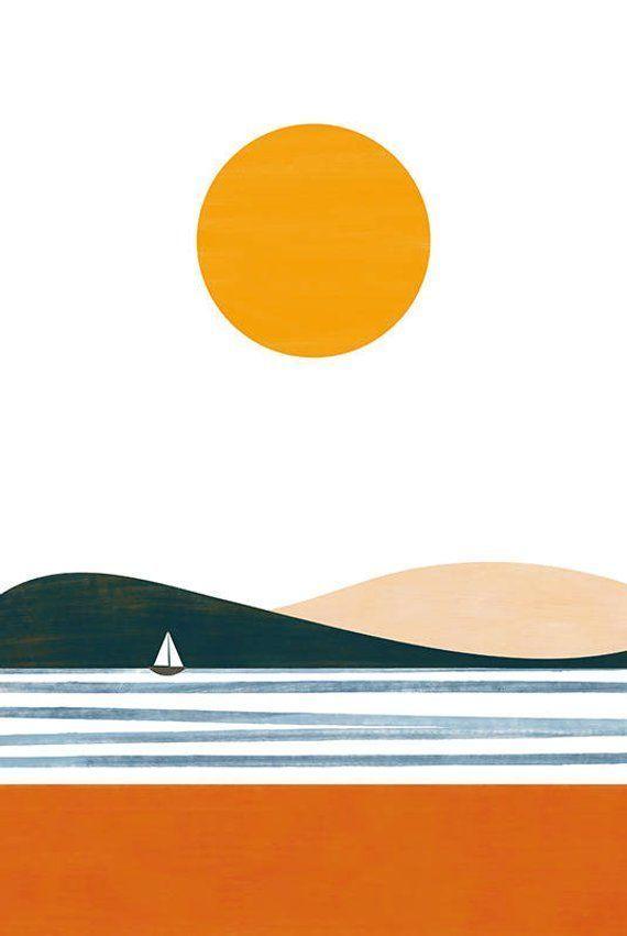 Summer print in 2020 | Summer prints, Prints, Fine art paper #framesandborders F… – Peinados facile