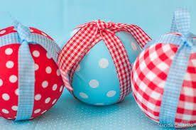 bolas de natal decoradas com biscuit - Pesquisa Google