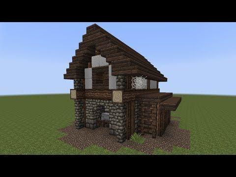 Minecraft tutorial einen kleinen stall bauen youtube for Minecraft haus bauen