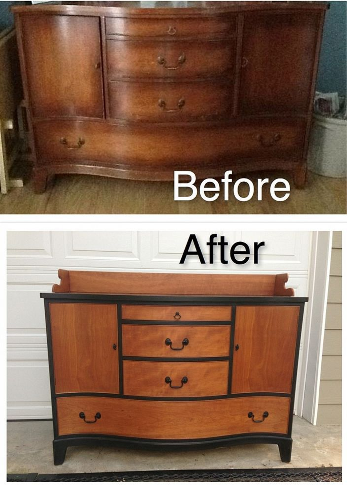 Before and After, upcycled, re purposed dresser. www ... |Repurposed Furniture Before And After