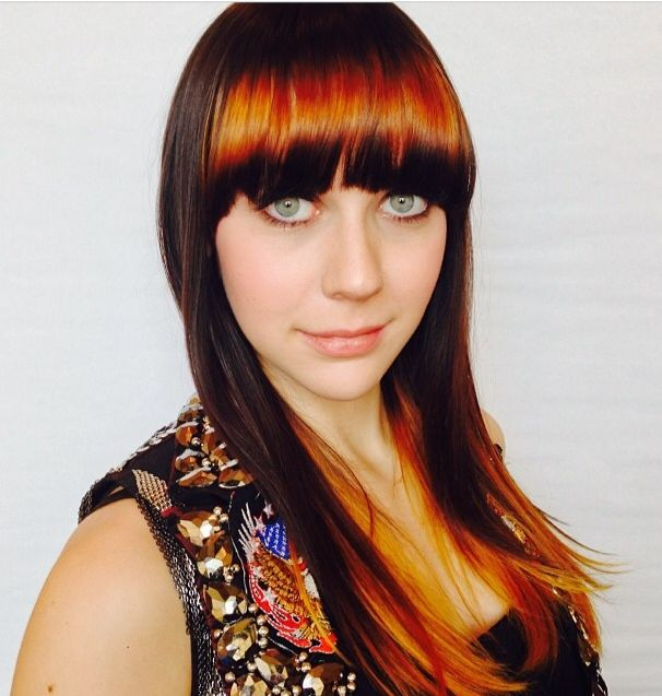 New Hair Color Trends Spring 2014 Spot Lights Look