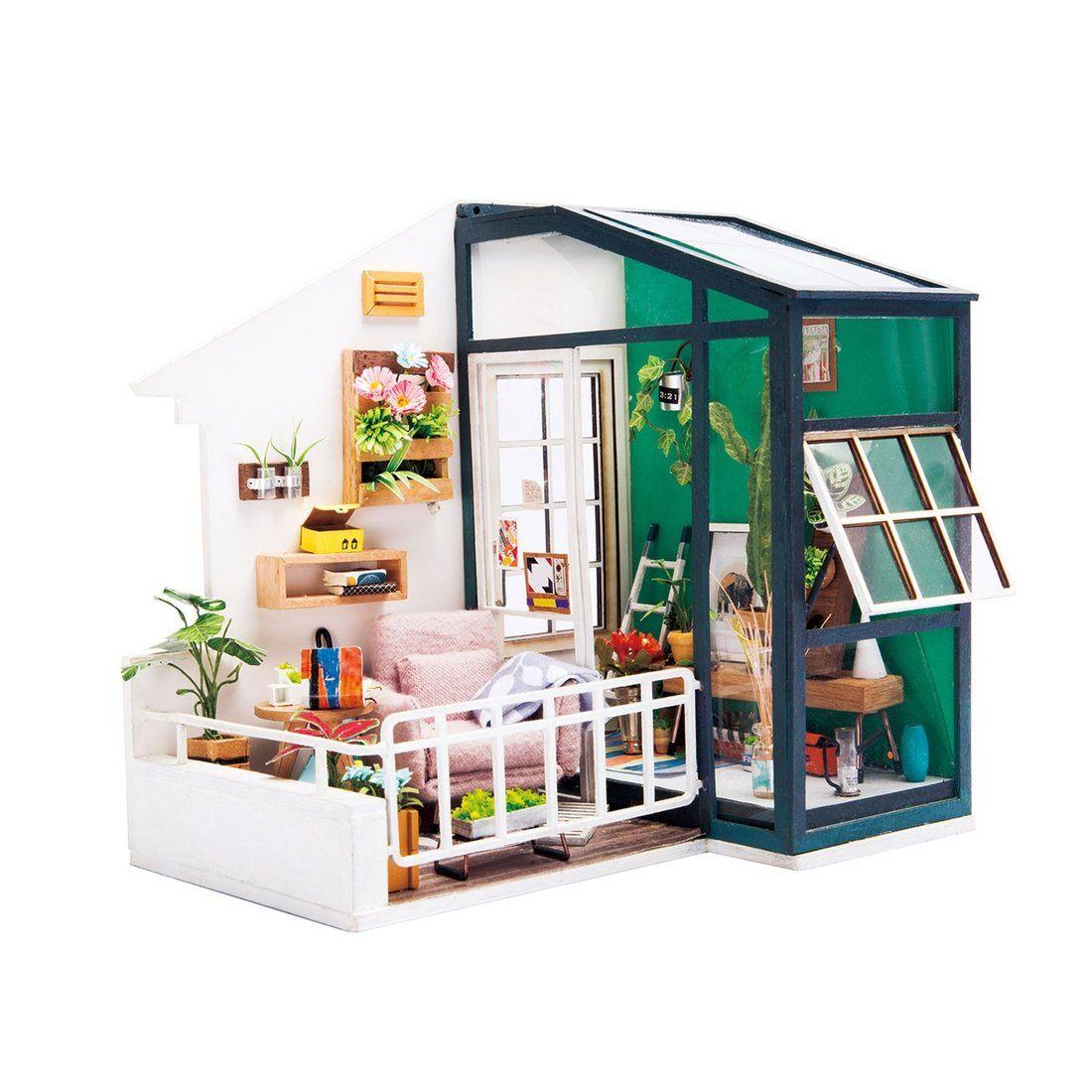 Photo of Miniature DIY House Kits – Reagan's Balcony
