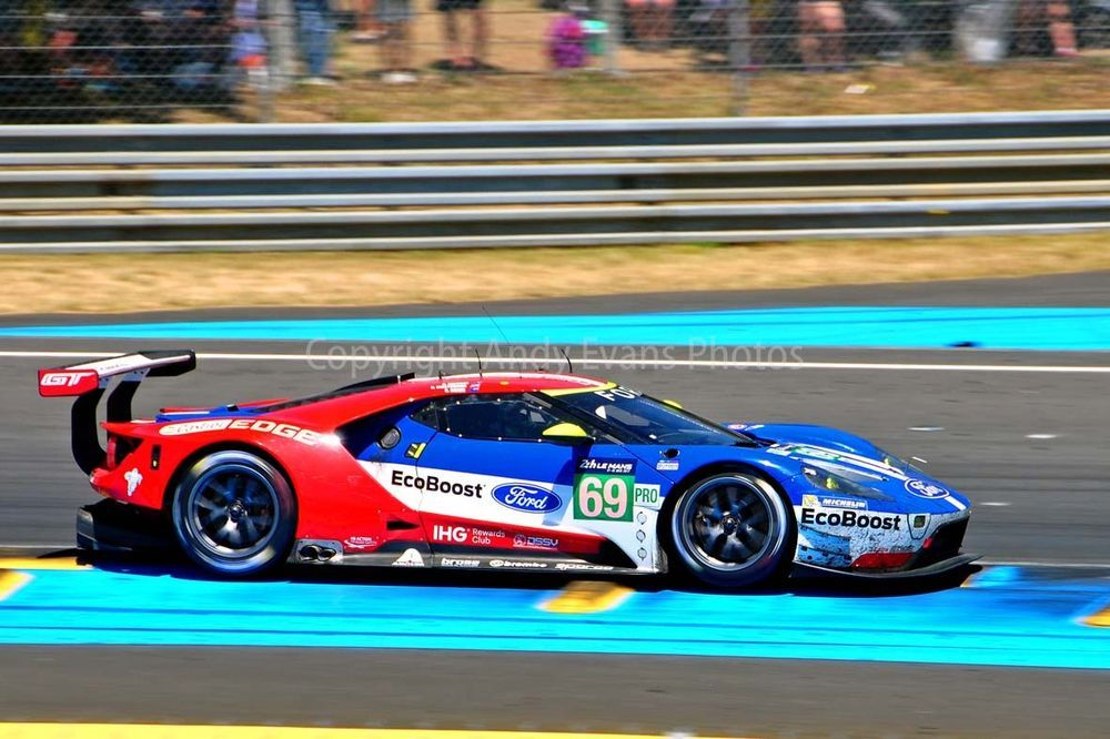 Ford Gt No69 24 Hours Of Le Mans 2017 Photograph Picture Poster