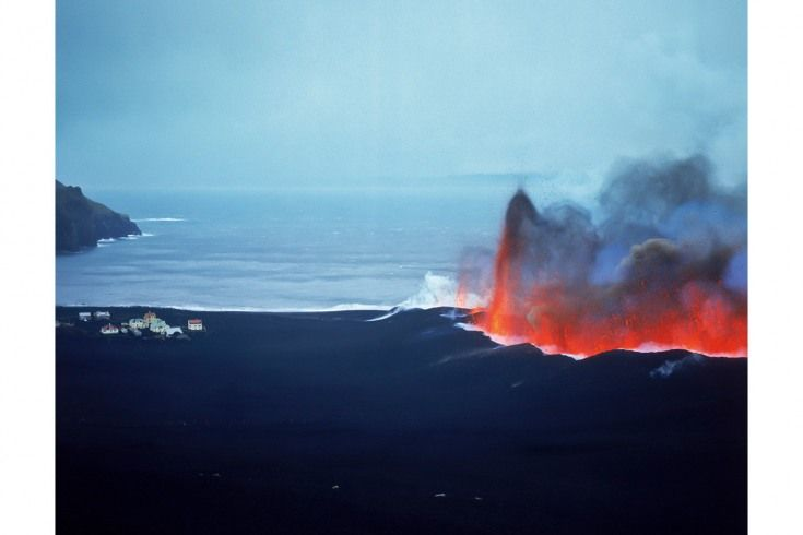 In the early hours of January 23, 1973, the 5000 residents of Heimaey Island awoke to a 1,500m-long wall of fire rising to the east of the town. The island, originally formed by volcanic eruptions, was hastily evacuated within a couple of days.
