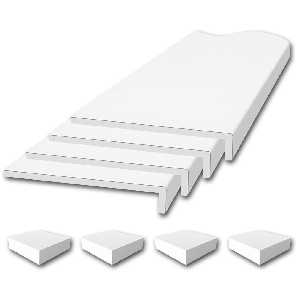 Flexstone Window Sill Trim Kit In White Window Sill Trim Window Sill Shower Surround