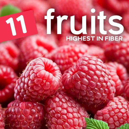 Eat more of these high fiber fruits to keep your digestive system regulated...