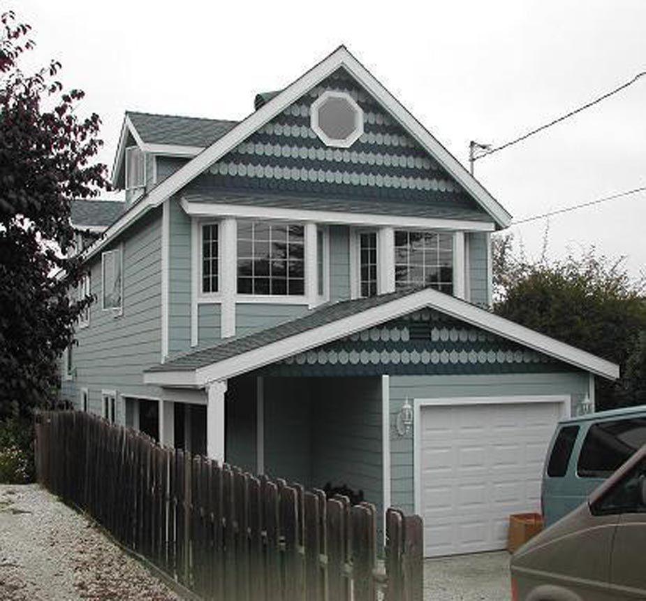 Home Exterior Paint Ideas: Village House Exterior Paint