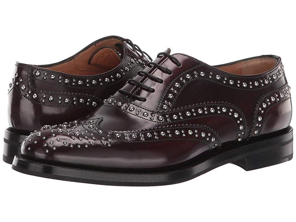Church's Burwood Oxford Women's Shoes Burgundy 1 #churchitems