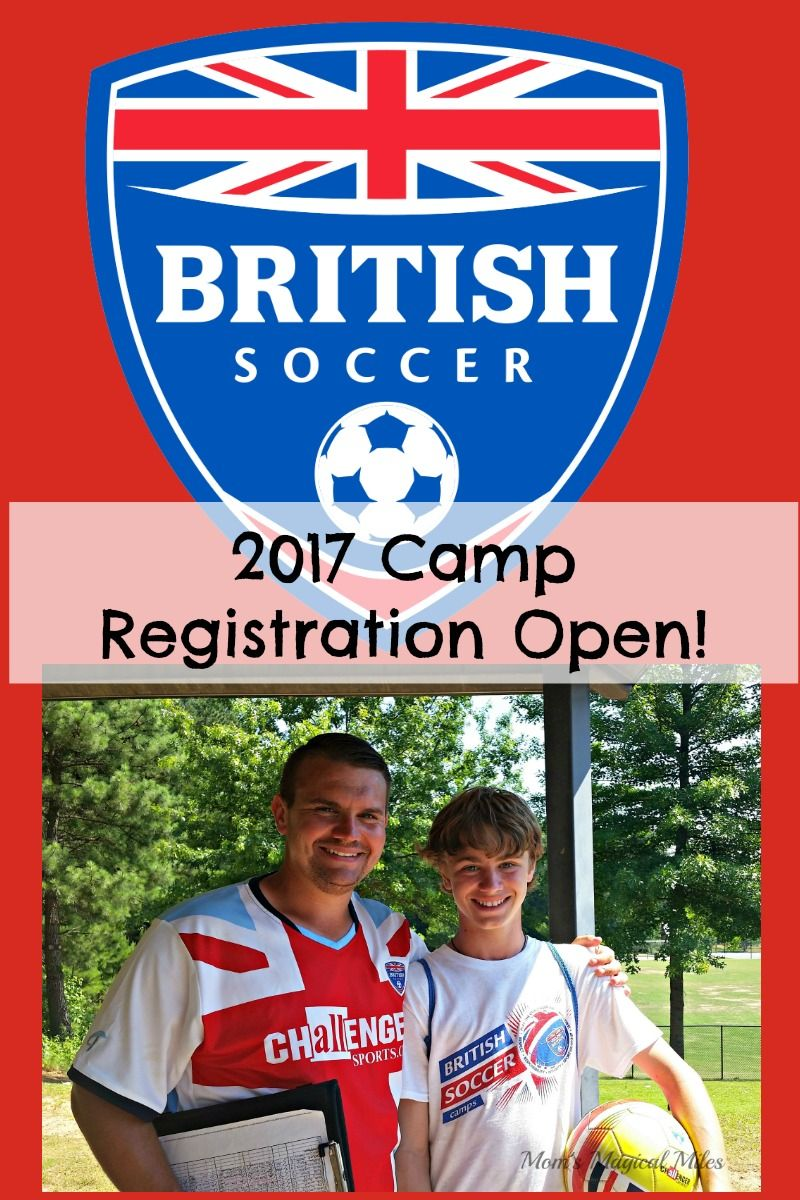 957ad6f44 Registration is now open for 2017 British Soccer Camp! My son has attended  this camp for the past two years and loved it. Skill building and  sportsmanship ...