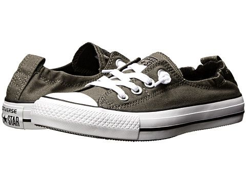 4f31c54040ae Converse Chuck Taylor® All Star® Shoreline Slip-On Ox Charcoal - Zappos.com  Free Shipping BOTH Ways