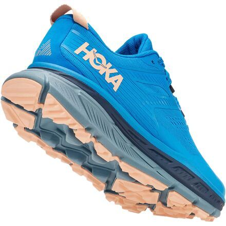 The HOKA ONE ONE Stinson ATR 6 is a plush trail running shoe that makes rocky trails feel like sidewalks. Its plush midsole and comfort-forward design allow you to go hard and long on your favorite trails. Additionally, The Stinson is equipped with a bevy of new features, namely in the fit, but it's still endowed with the Meta-Rocker Geometry (for smooth transitions), as well as the reinforced open mesh upper for ample breathability. To start, the Stinson 6 ATR now brings you a more refined toe