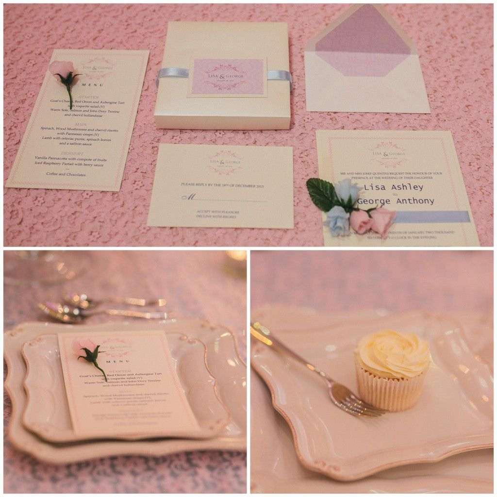 collect your stationery, menu cards etc, part of the ten things to ...