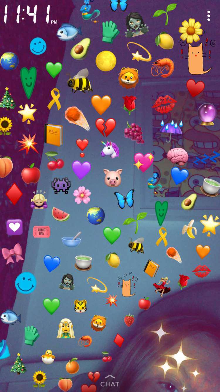Streaks Aesthetic Iphone Wallpaper Emoji Photo Emoji Pictures