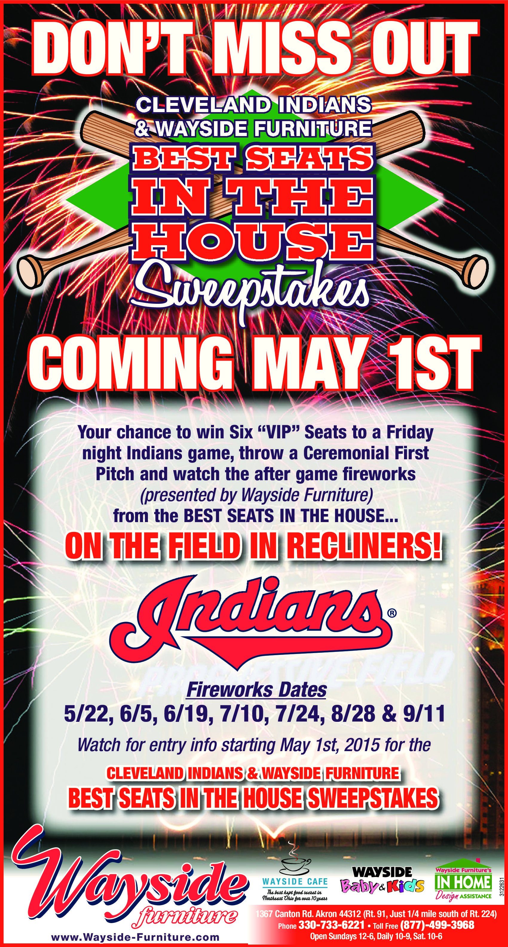 Wayside Furniture Cleveland Indians Bring You The Best Seats In
