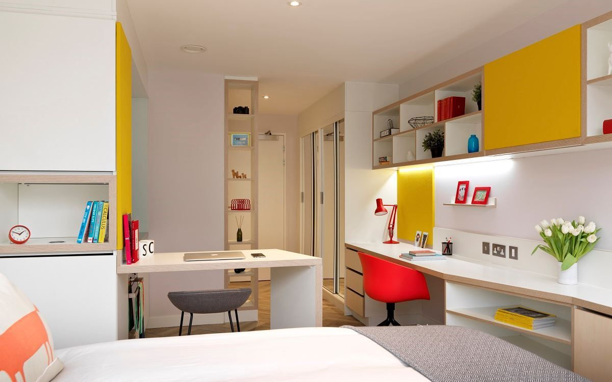 Student Accommodation Melbourne In 2020 Student Accommodation Hall Room Design Dorm Layout