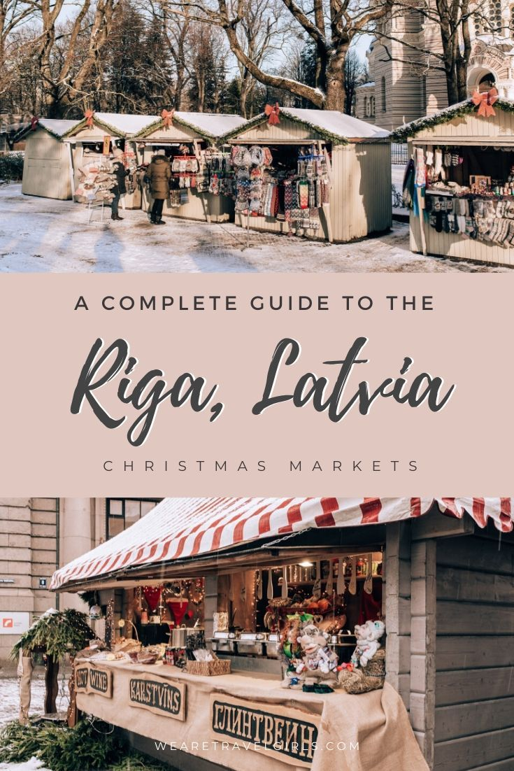Discover why Riga, Latvia is one of Europe's best (and cheapest) Christmas Markets to visit this holiday season! In this guide we share everything you need to know to visit the Riga Christmas market, the best time to go, what stalls to expect and some money-saving and other travel tips for Latvia. #christmasmarkets #riga #latvia