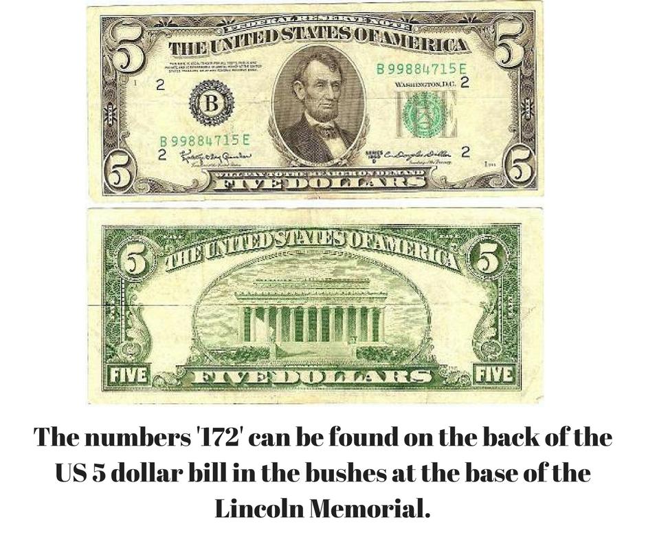 Pin By United Community Bank On Money Trivia 5 Dollar Bill Morganfield Dollar Bill