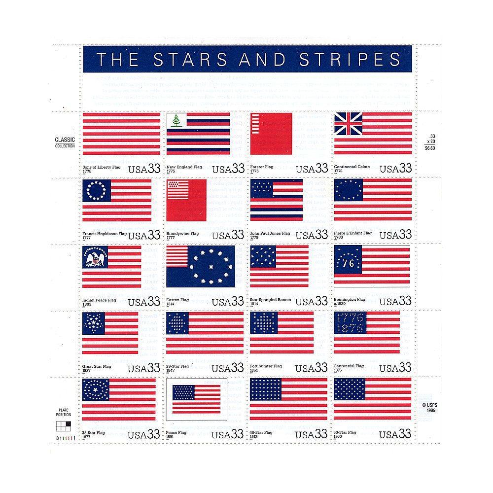 Twenty 33c Stars And Stripes Flag Stamps Vintage Unused Us Postage Stamps Set Of 20 Stamps Postcar In 2020 Vintage Postage Stamps Vintage Postage Postage Stamps