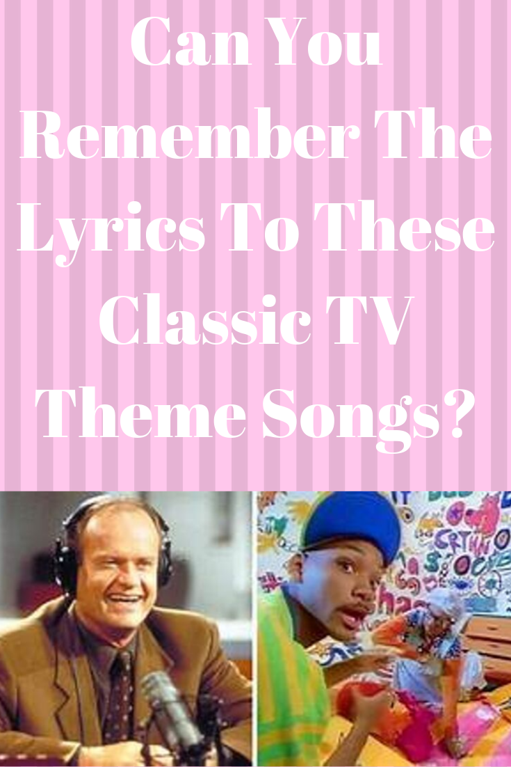 Can You Remember The Lyrics To These Classic TV Theme