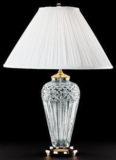 Waterford Crystal Belline Pattern Table Lamp 39506 Lamps Plus Crystal Lamp Lamp Elegant Table Lamp