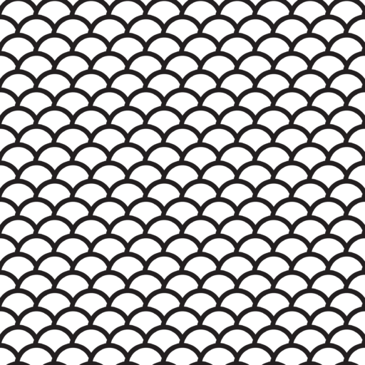 Seamless Fish Scale Pattern With Transparent Background Fish Scale Pattern Seamless Textures Fish Scales