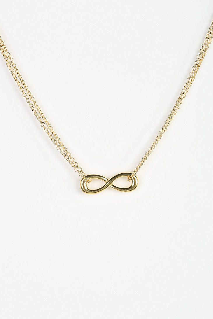 Adina reyter infinity pendant necklace urbanoutfitters adina reyter infinity pendant necklace mozeypictures Gallery