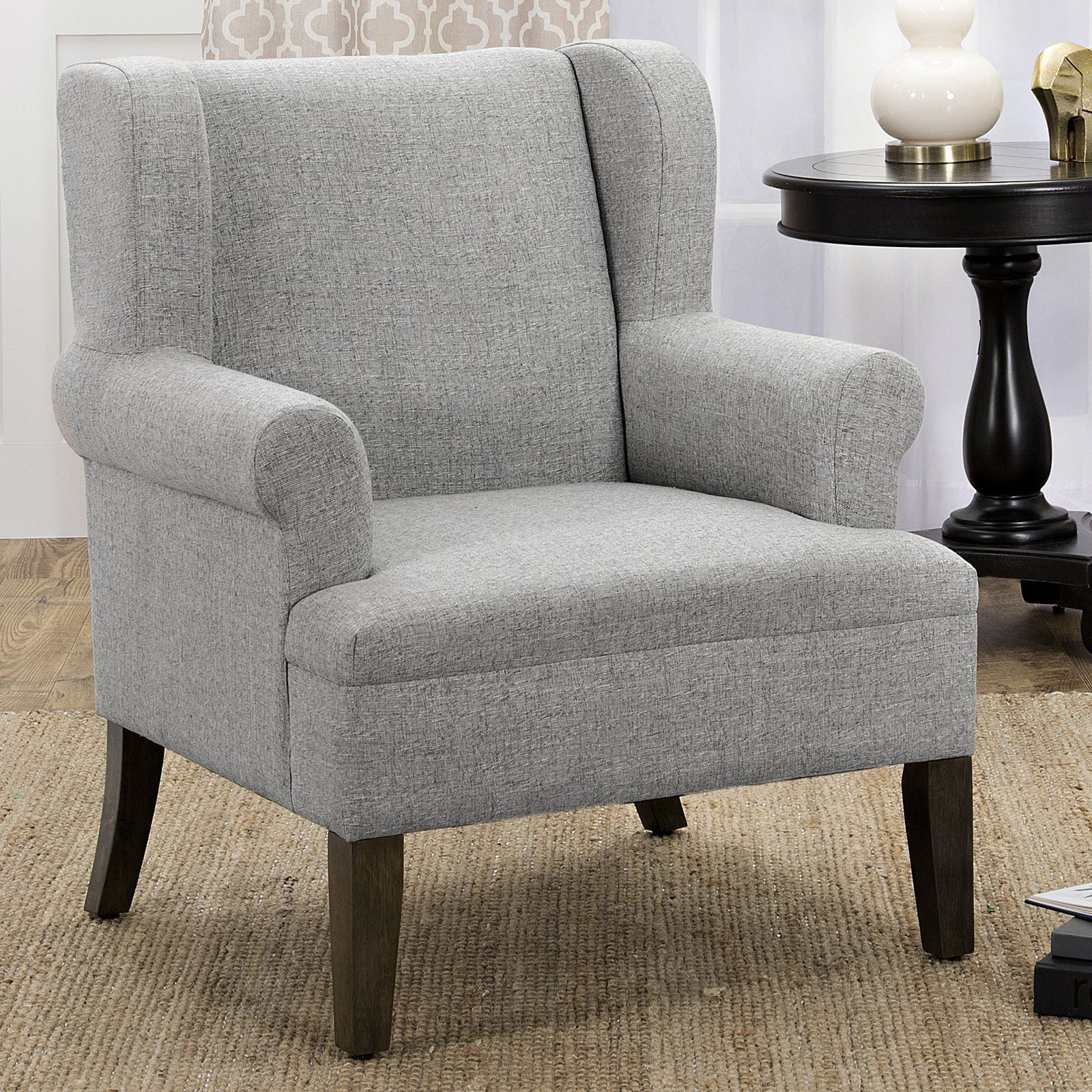 HomePop Emerson Wingback Accent Chair - K6699-F2099 | Products ...