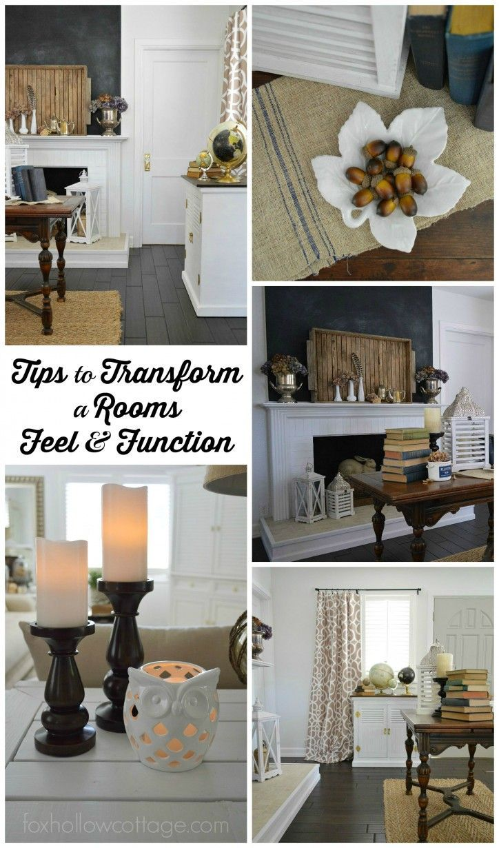 Home Decorating: tips to transform a rooms feel and function ...