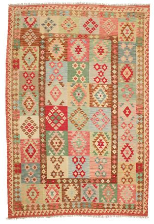Kelim Afghan Old style-matto 292x199