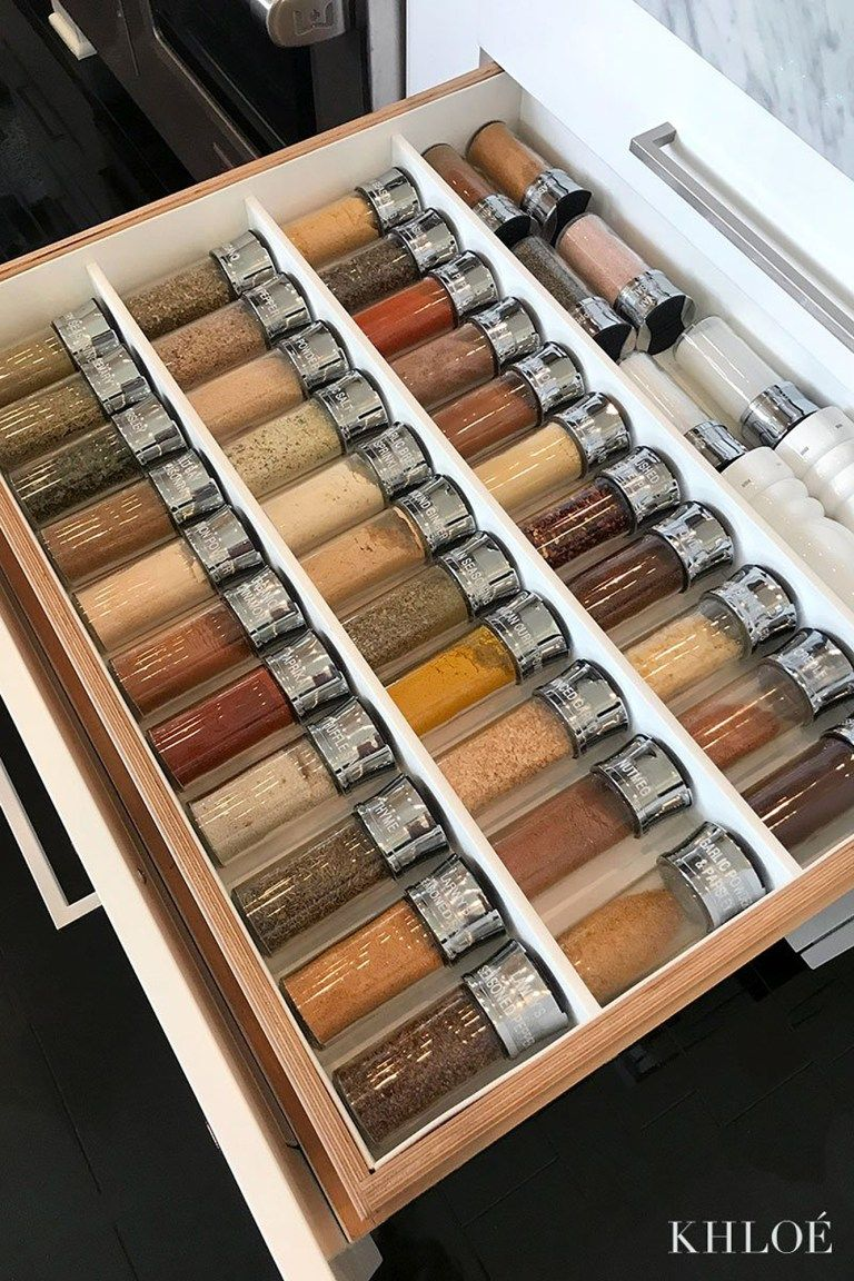20 Fabulous Spice Rack Ideas A Solution For Your Kitchen Storage In 2020 Khloe Kardashian House Kardashian Kitchen Decor Kardashian Home