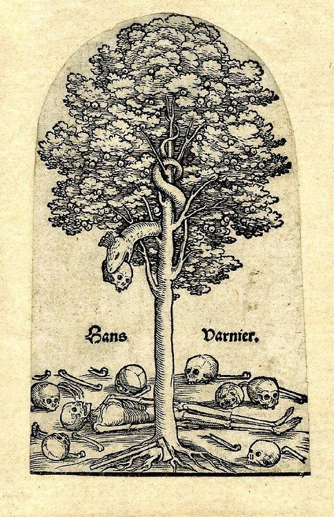 The Tree of Knowledge [British Museum, Hans Varnier the Elder, 16th c.]