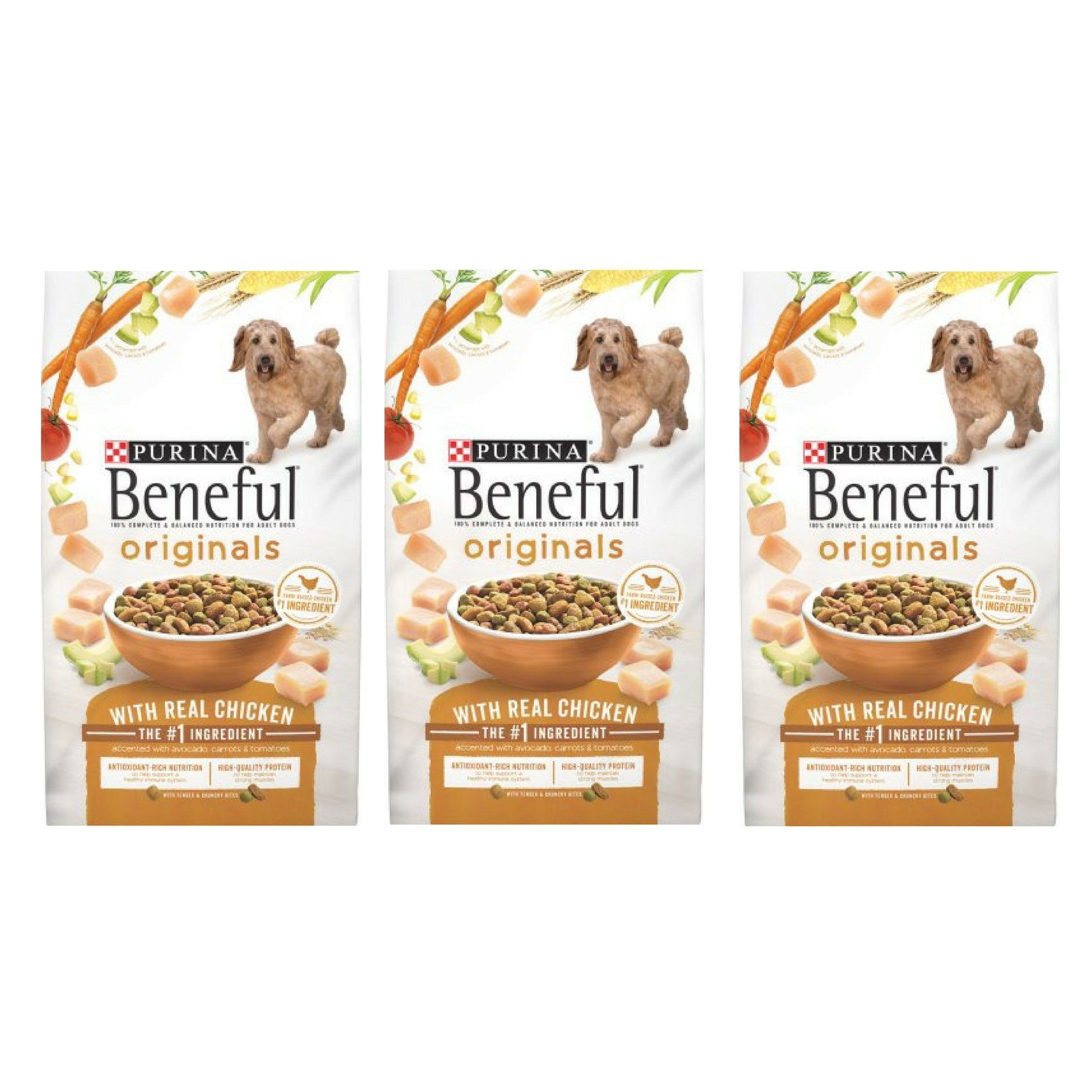 Purina Beneful Originals With Real Chicken Adult Dry Dog Food 15 5