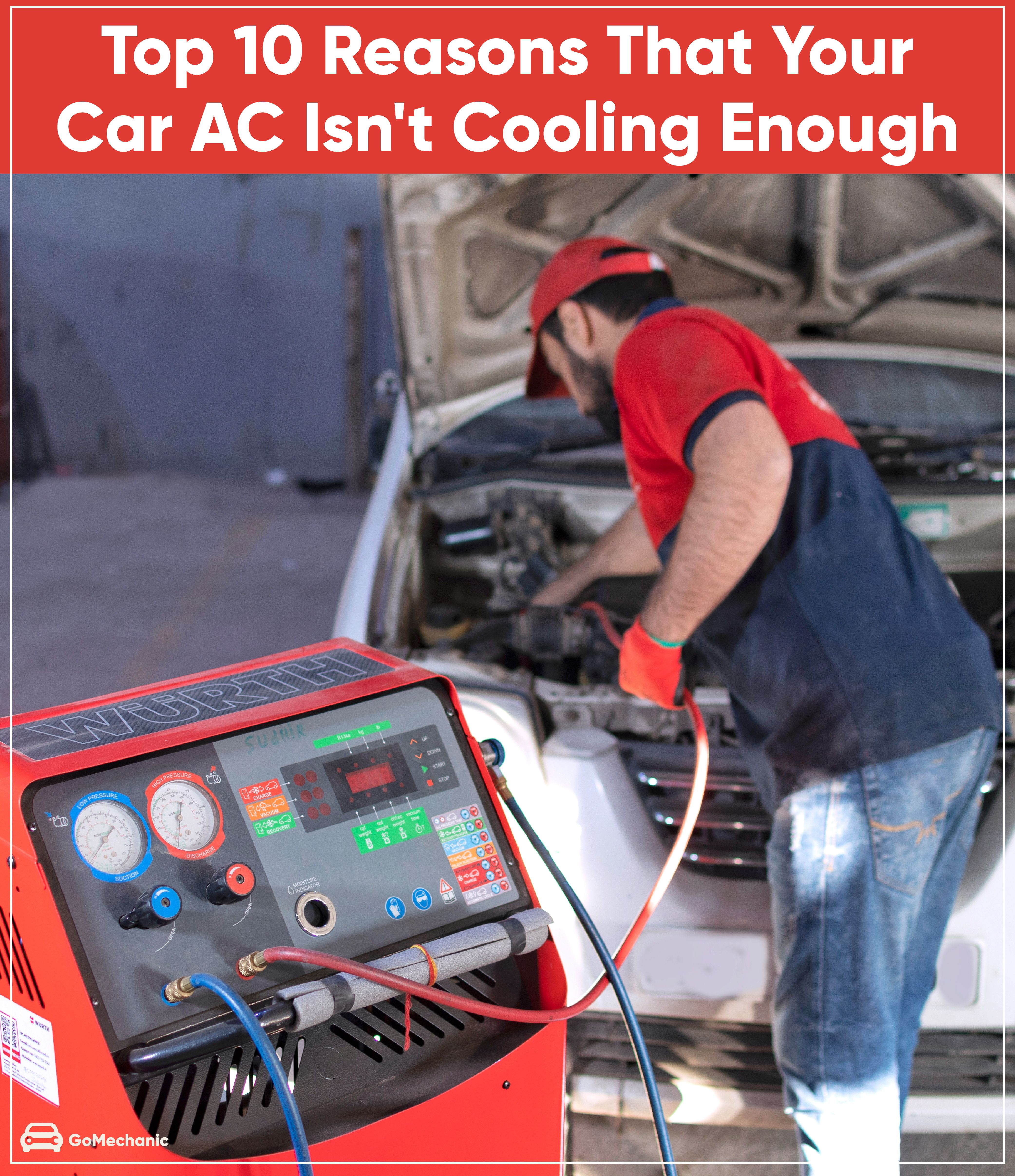 Top 10 Reasons that your Car AC isn't Cooling Enough in