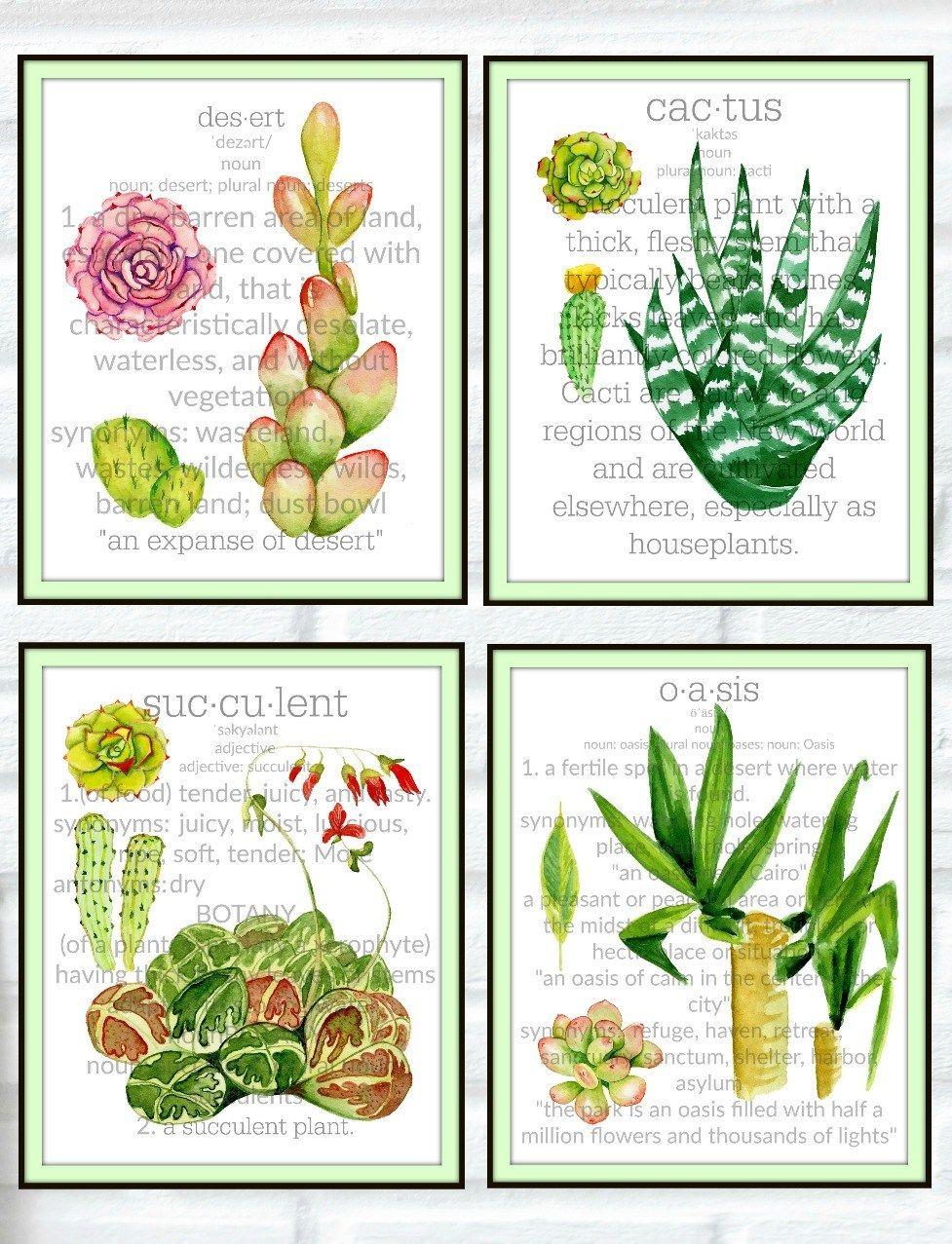 Sensational Cactus Succulent Botanical Prints Crafting Is My Therapy Botanical Prints Succulents Prints Free Art Prints