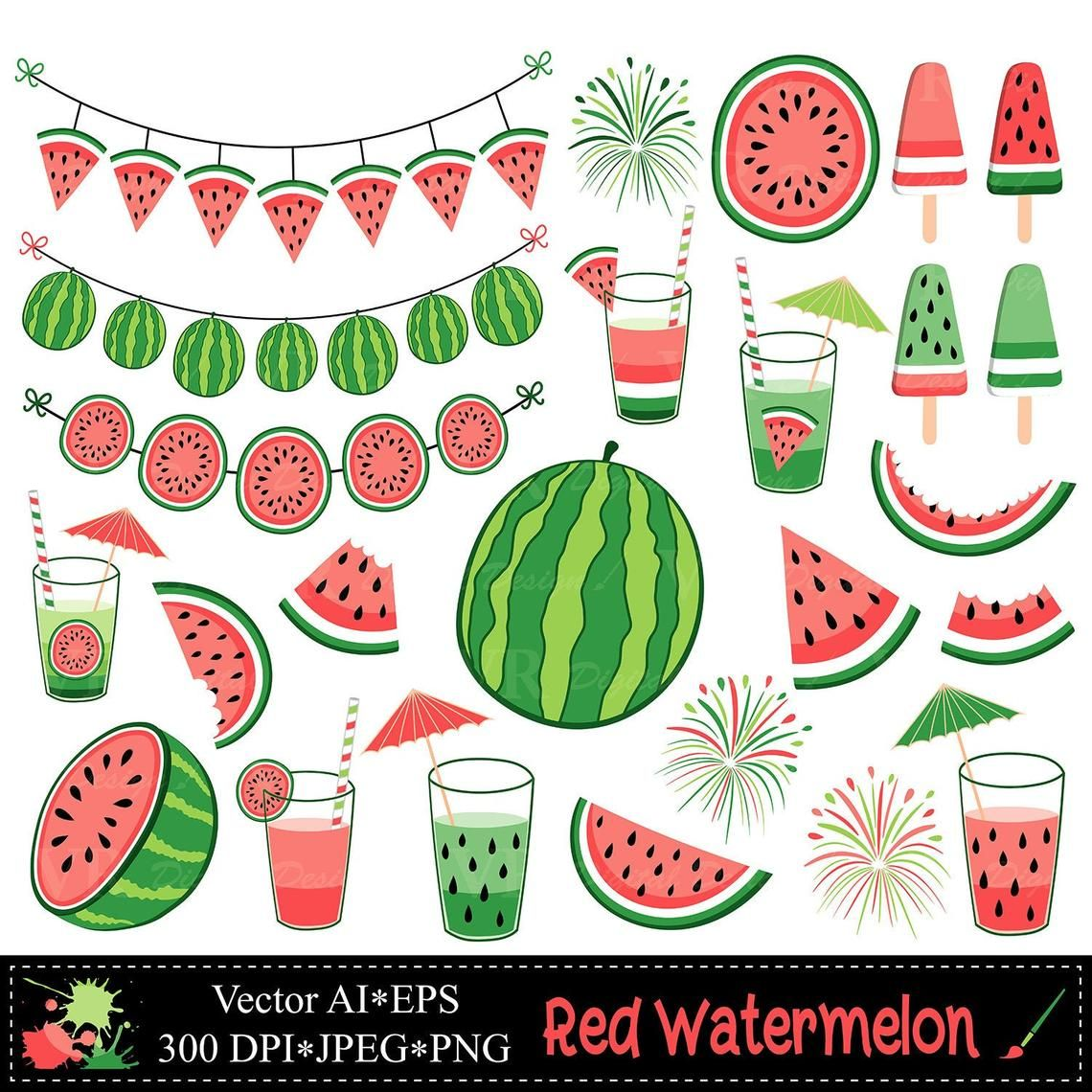 46+ Picture of water melon clipart ideas