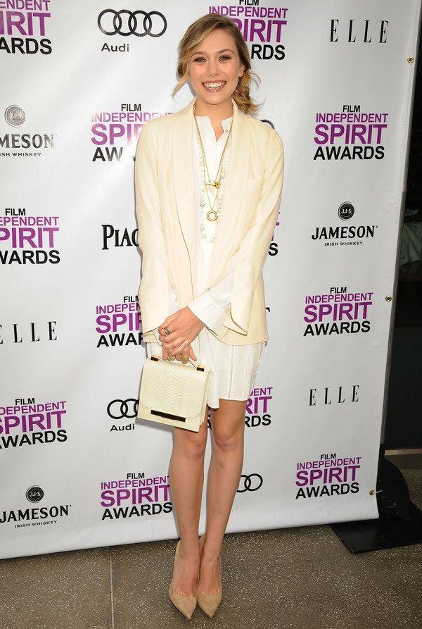 Elizabeth Olsen at the Film Independent Spirit Awards